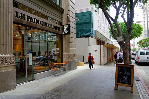 Le Pain Quotidien now open at the PacMutual near Pershing Square at 6th/Olive