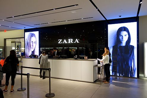 Now Open! Feast Your Eyes on Downtown LA's New Beautiful Flagship Zara Store