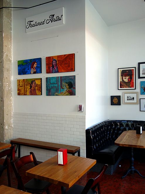 Guisados features local artists in their new downtown restaurant