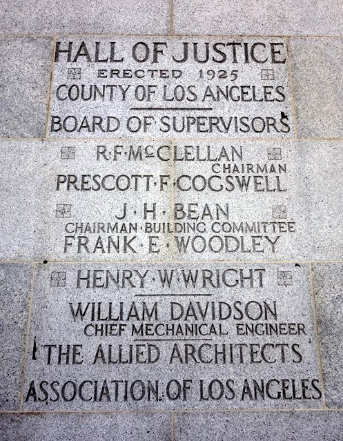Hall of Justice erected in 1925