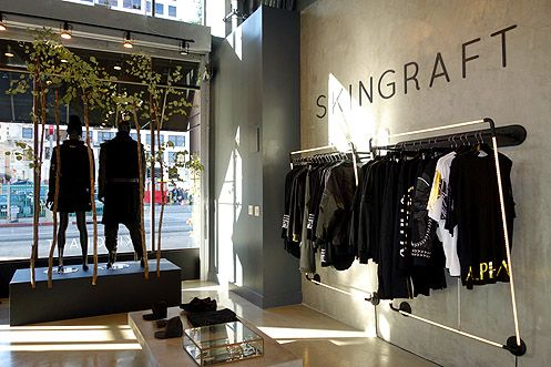 Skingraft's new flagship store is now open at 8th and Spring in Downtown LA