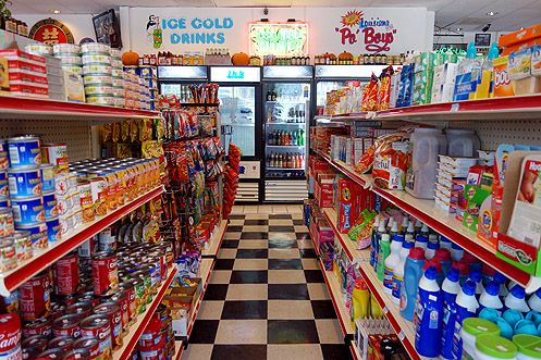 Little Jewel is also a local convenience market