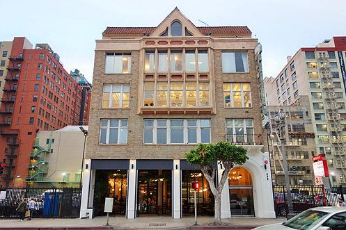 Verve Coffee/Juice Served Here is now open inside the historic Primrose Design Building at 833 S Spring St