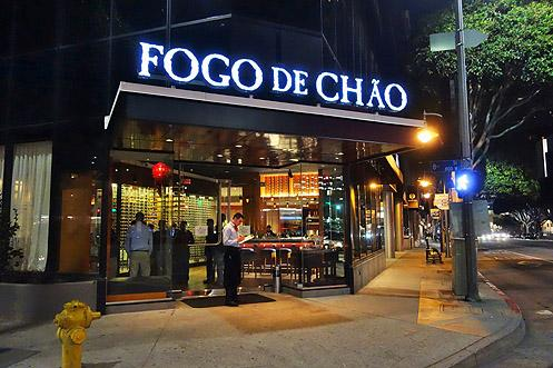 Fogo de Chao is now open in Downtown LA's Financial District serving AYCE southern Brazilian BBQ