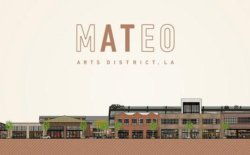 A new 130,000 square foot retail hub is coming to Downtown LA's Arts District (Photo: At Mateo)