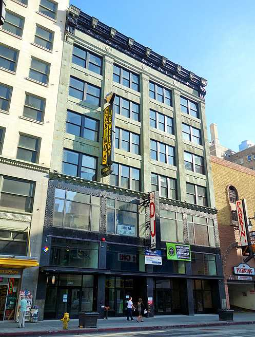 The historic 1906 Bumiller/Campbell Blake Building has been converted to 58 new live-work lofts for rent now called The Broadway Lofts
