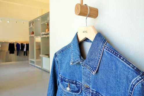 A.P.C. carries ready-to-wear fashion for both men and women