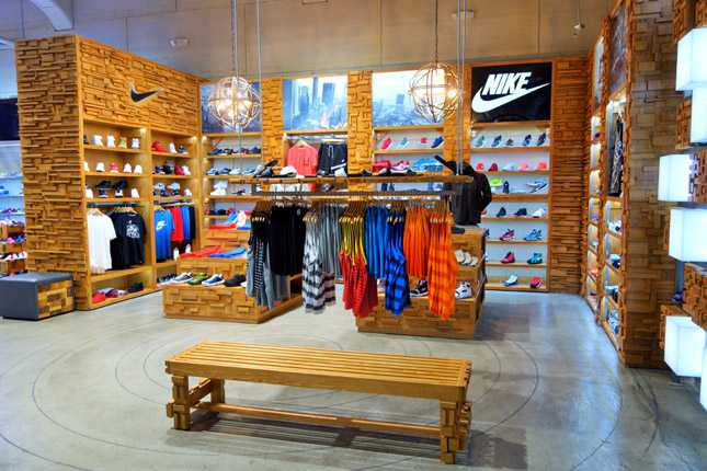 Shiekh carries brands like Nike, Adidas, Converse, K-Swiss, Lacoste, Sketchers, and Steve Madden