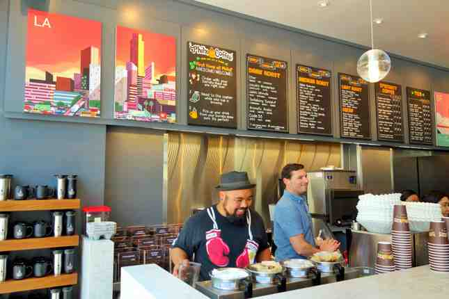 Philz Coffee now open in Downtown LA's bustling South Park neighborhood