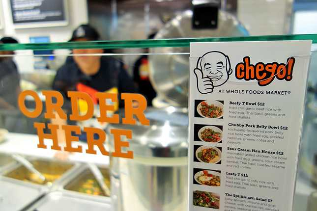 Everyone's favorite Chego is now open inside Whole Foods in Downtown LA