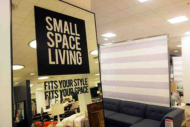 Macy's Downtown LA home furnishings caters to the smaller spaces found in LA's urban center