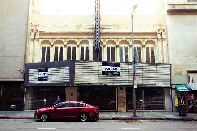 Originally named Bard's 8th St. Theatre, it was renamed the Olympic Theatre in celebration of the 1932 Los Angeles summer games