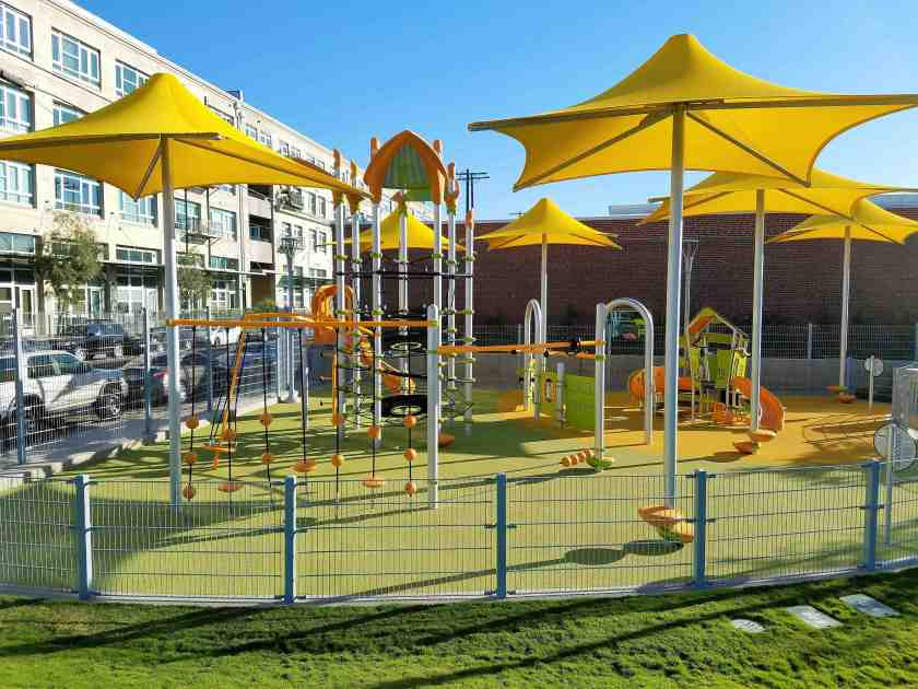 A cheerful playground for the kids as DTLA becomes more family-oriented