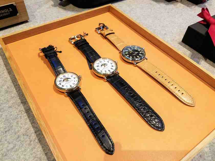 Shinola is known for their watches
