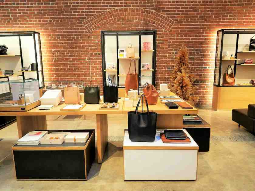 Shinola is known for their leather goods including wallets and handbags