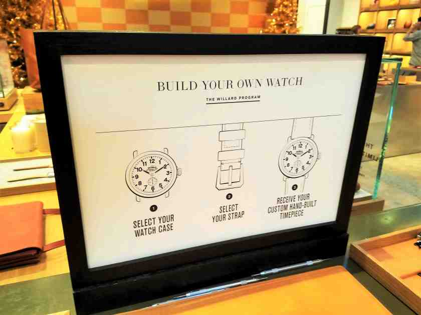 You can build your own Shinola watch