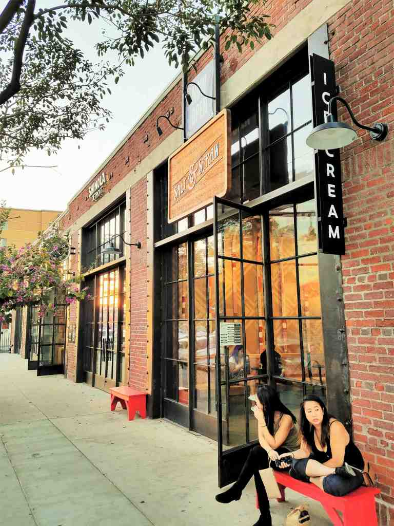 Salt & Straw and Shinola have both chosen to open their flagship stores here in Downtown LA
