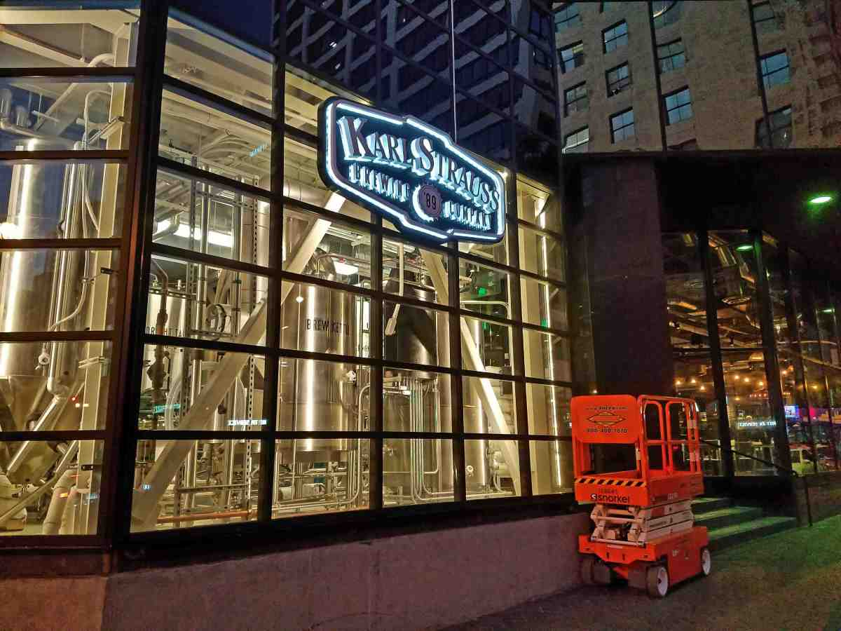 Karl Strauss Brewery Opens Massive LA Flagship in Downtown LA