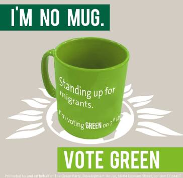 The mug design by Thom Pizzey, first featured by Bright Green