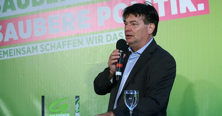 Werner Kogler, Austrian Green Party spokesperson