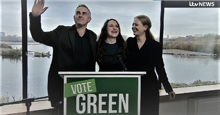 Green Party manifesto launch