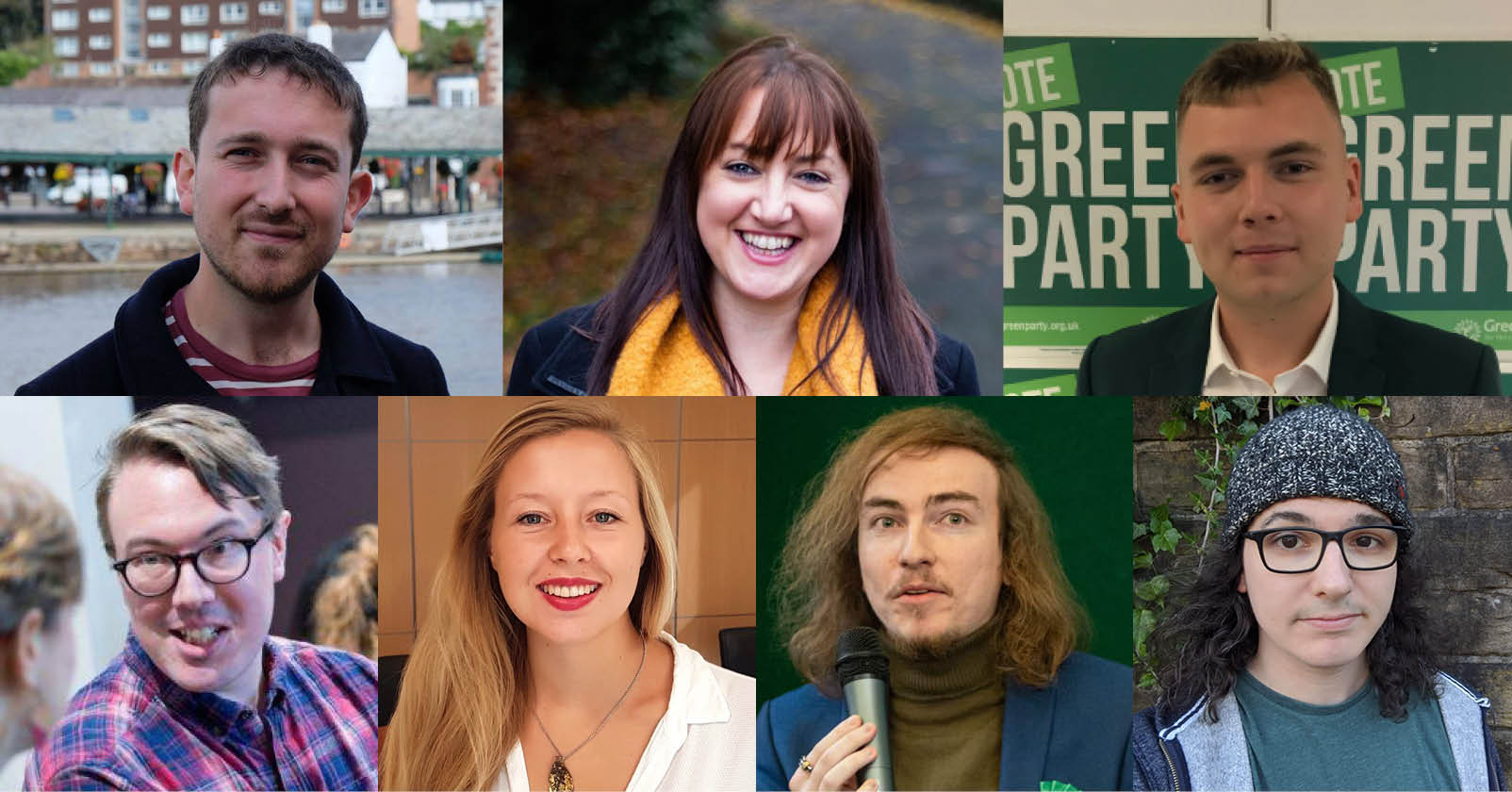 Green Party Executive candidates