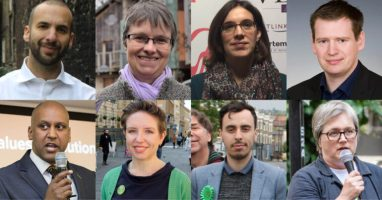 Green Party announces new list of spokespeople