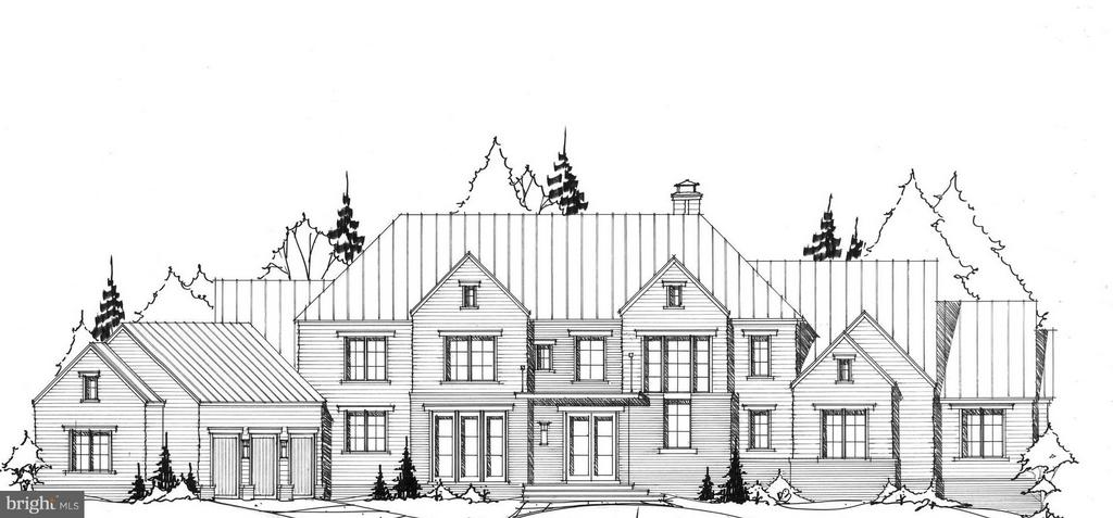 RARELY AVAILABLE.  Plans are underway to create a one of a kind residence on this Beautiful Large Parcel (2.5 acres) in Quiet Neighborhood just minutes to Downtown McLean and DC.   Shown Elevation and Plans can be built or talk with Joy Custom Design Build to create your own vision of Home.  Southern Exposure, Public Sewer and Water, Natural Gas, Wonderful Flat Yard for Outdoor Living and Scenic Wooded Views - All a Buyer Could Want!  Optional Elevator and Features are shown on plans.