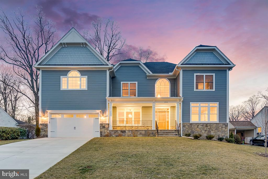 A must see! Check out this new built (2018) luxury home on a cul-de-sac with 6 Bed/6 Bath and almost 6,400 square feet with an expansive kitchen and living room located in Pimmit Hills that is ideally situated between the Beltway, I-66 and the Dulles Toll Road. Some of the many house features include a grand foyer with Oak Hardwood floors on the main and upper level. Large Finished basement including a rec room, a media and workout rooms. Kitchen features a large granite island and white quartz countertops~ and much, much more..