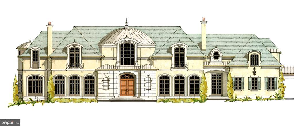 Designed by Custom Design Concepts Architecture + Interiors, this exquisite estate will be built in the heart of McLean's most prestigious neighborhood: Ballantrae Farms. Over 20,000 sq. ft. of the ultimate in quality, elegance and craftsmanship with 6+ BRs, 6+BAs, domed reception hall, garages for 10 vehicles, guest house...magnificent finishes throughout, sited in premier McLean location.