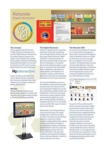 Rotunda Touchscreen Brochure