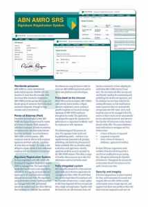ABN AMRO SRS Brochure