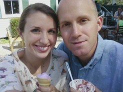 Ice Cream and a Dinosaur Shirt