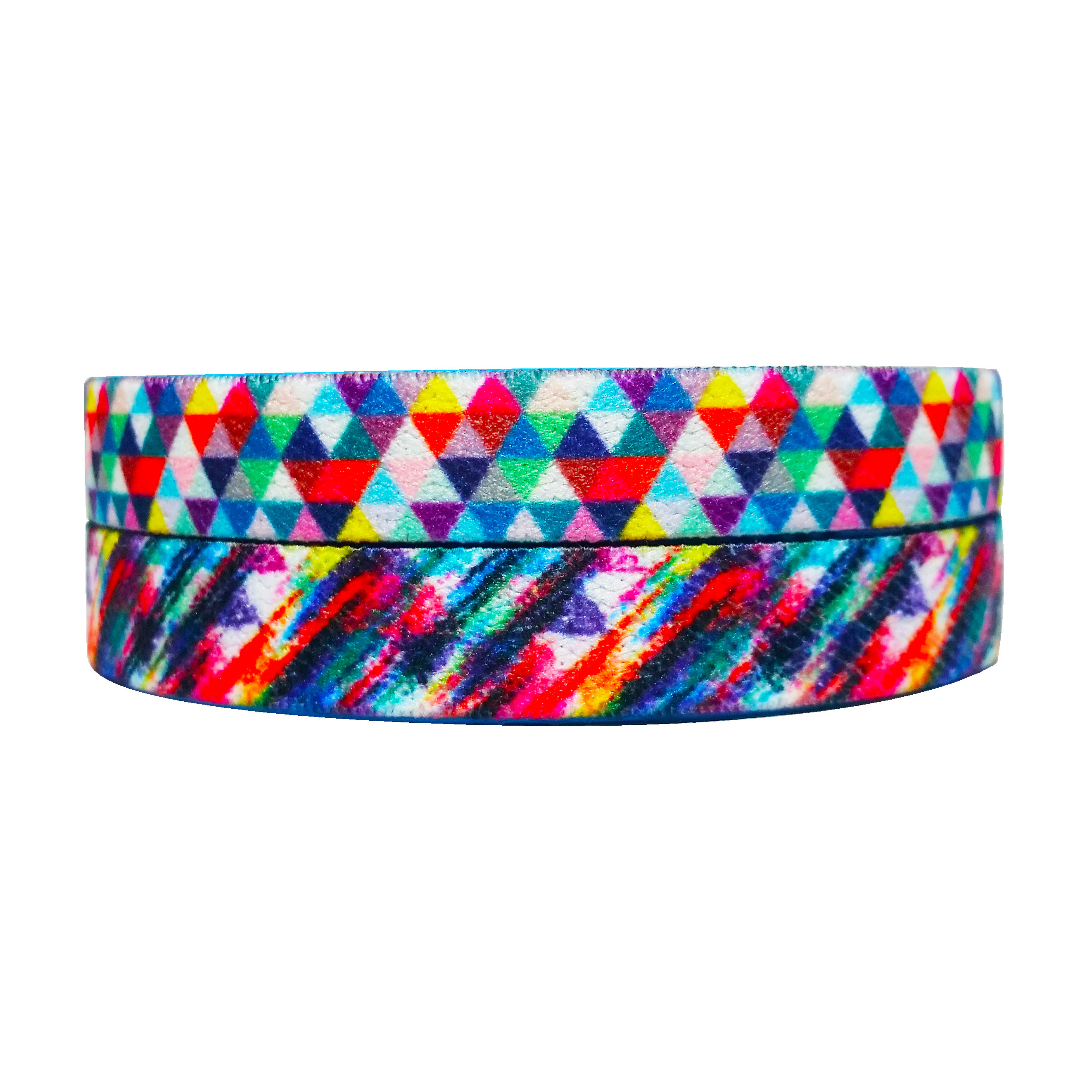 Colorful Rainbow Triangle Bracelets
