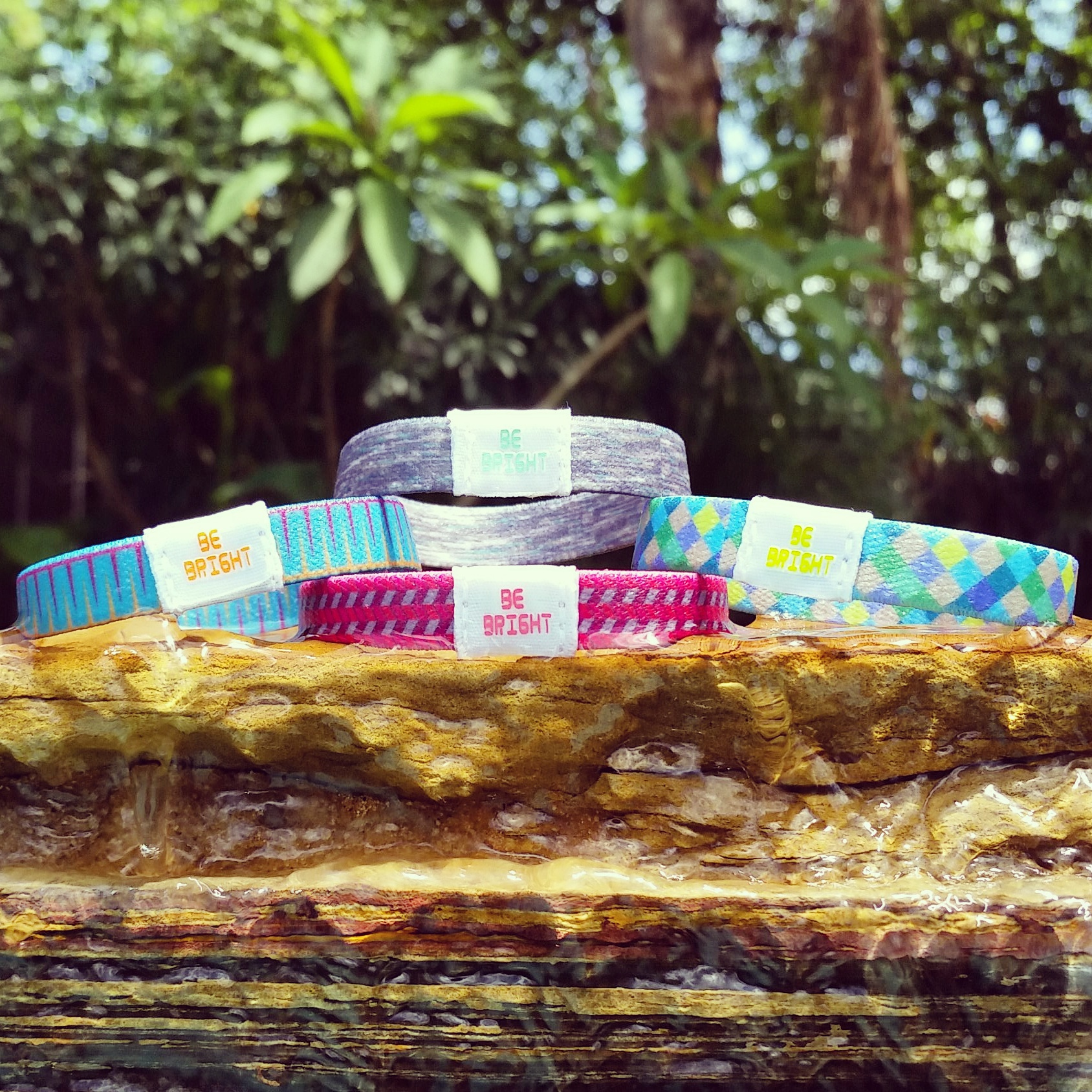 Colorful and Bright wrist bands