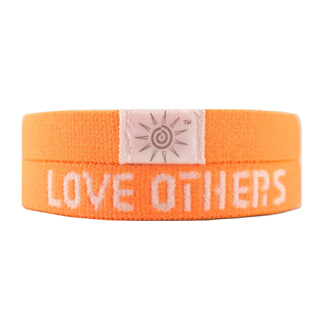 LOVE GOD LOVE OTHERS ORANGE