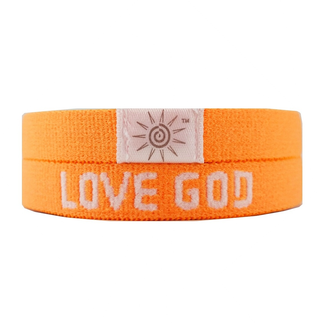 Orange Love God Love Others