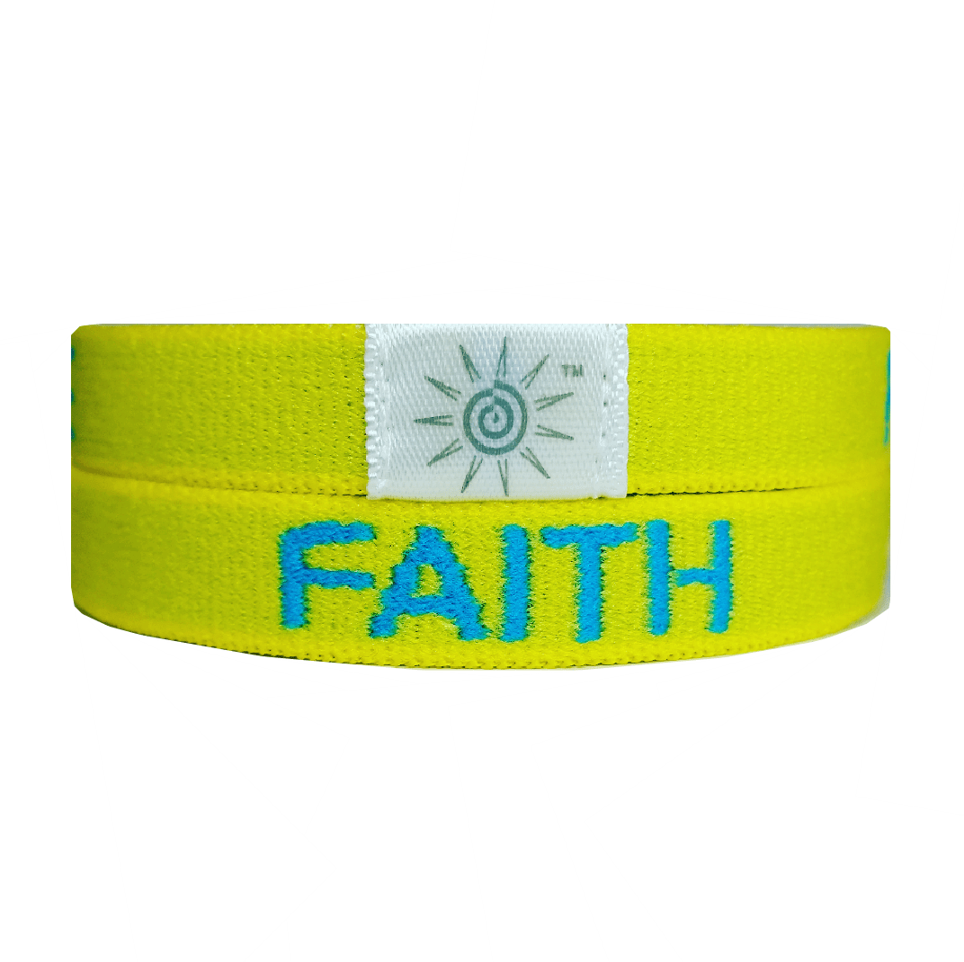 FAITH HOPE LOVE YELLOW