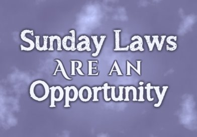 Sunday Laws Are an Opportunity