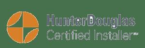 Hunter Douglas Certified Installer