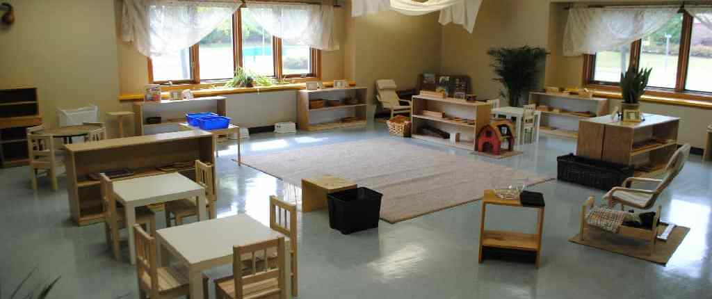 Bright Child Montessori Preschool classroom