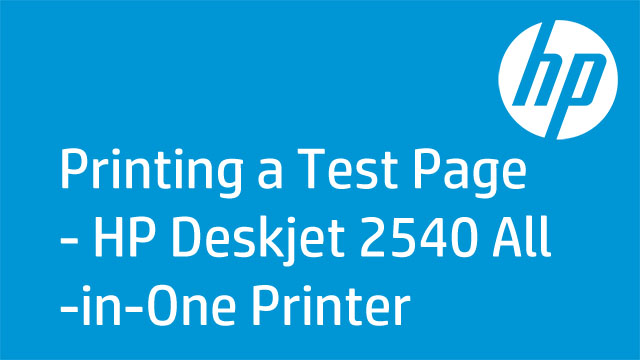 printing a deskjet 2540 all in one printer