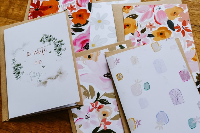 Assorted card bundle with a mix of illustrations from Bright Delights