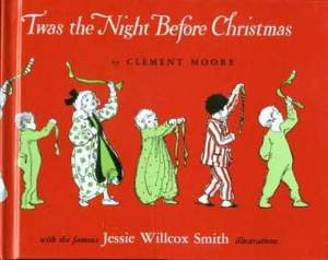 Twas the Night Before Christmas book cover