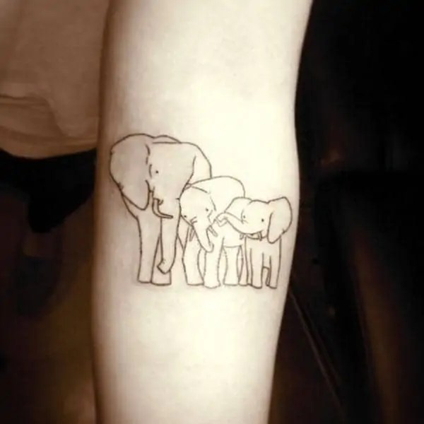 47572d57f Here's a list of 75 big and small elephant tattoo ideas to inspire you and  help you with your decision.