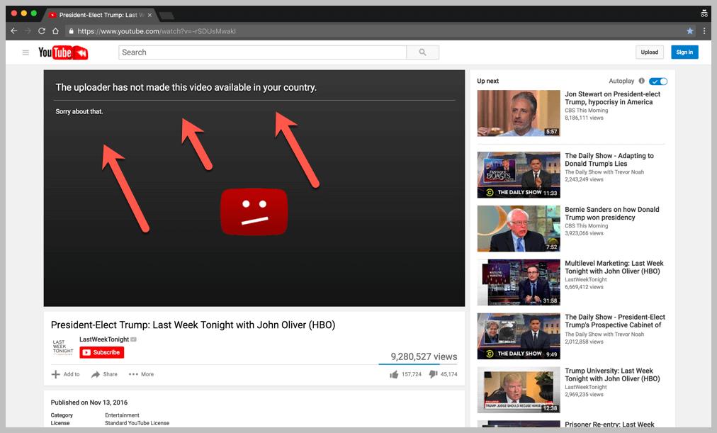 How To Download Youtube Video Not Available In Your Country