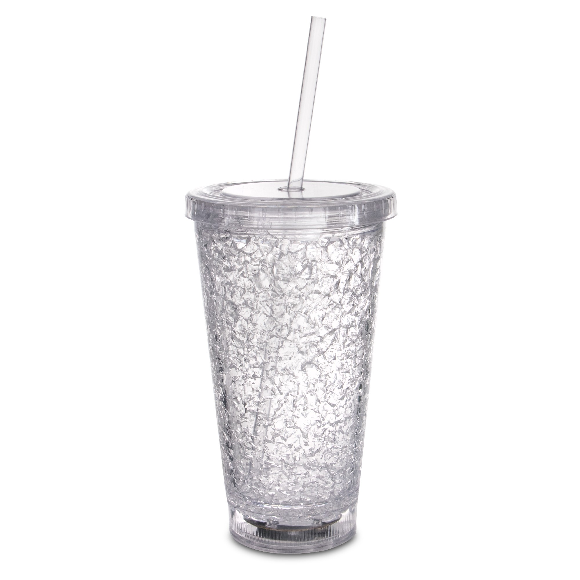 Multicolor Led 16oz Crystal Tumbler