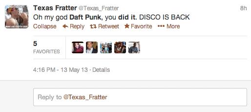 Randomly Accessing Daft Punk: A Twitter Story ⋆ BYT