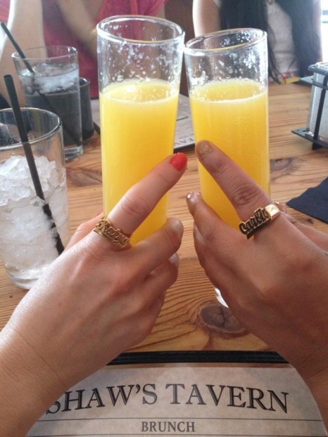 Carlis and Katya rings (Jennifer Zeuner)