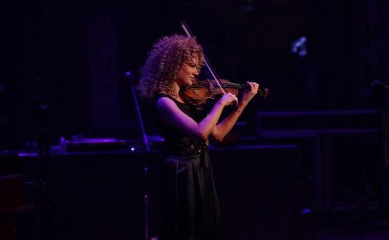 Miri Ben-Ari at Rock Like a Girl - April 5, 2014. Photo by Jati Lindsay.